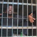 Yushau Shuaib pictured inside the Kirikiri Prison in Apapa, Lagos