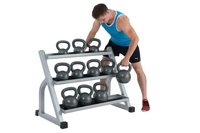 Kettlebell Set exercise