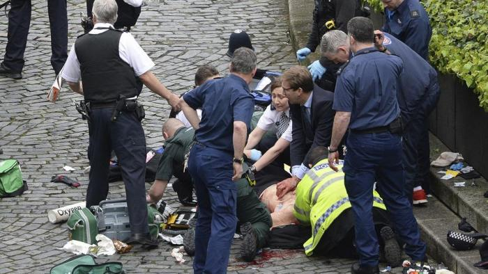 Terrorist Attack at British Parliament