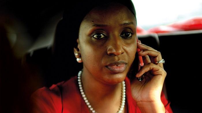 Hadiza Bala Usman, the MD of the Nigerian Ports Authority