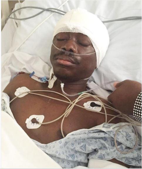 Julius Agwu pictured during his brain