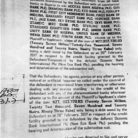 Nsima Ekere Court Documents