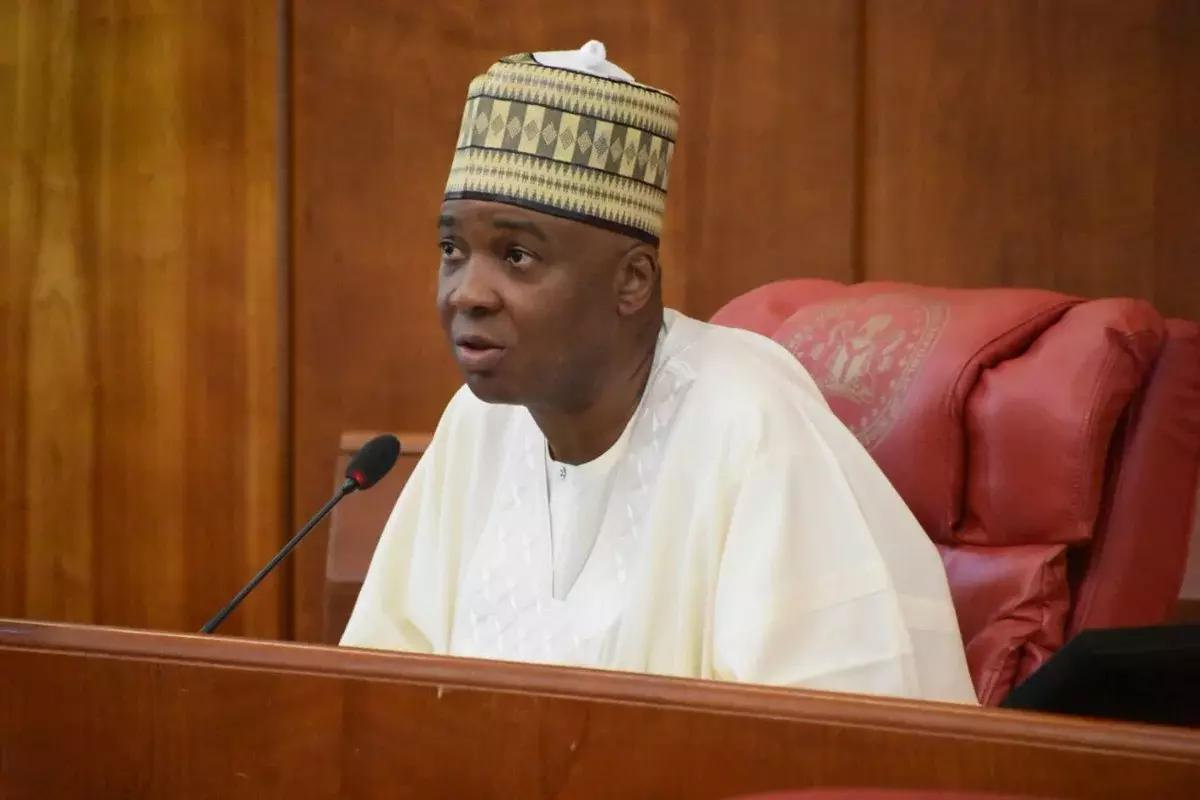 Senate President, Bukola Saraki. Photo: Tribune