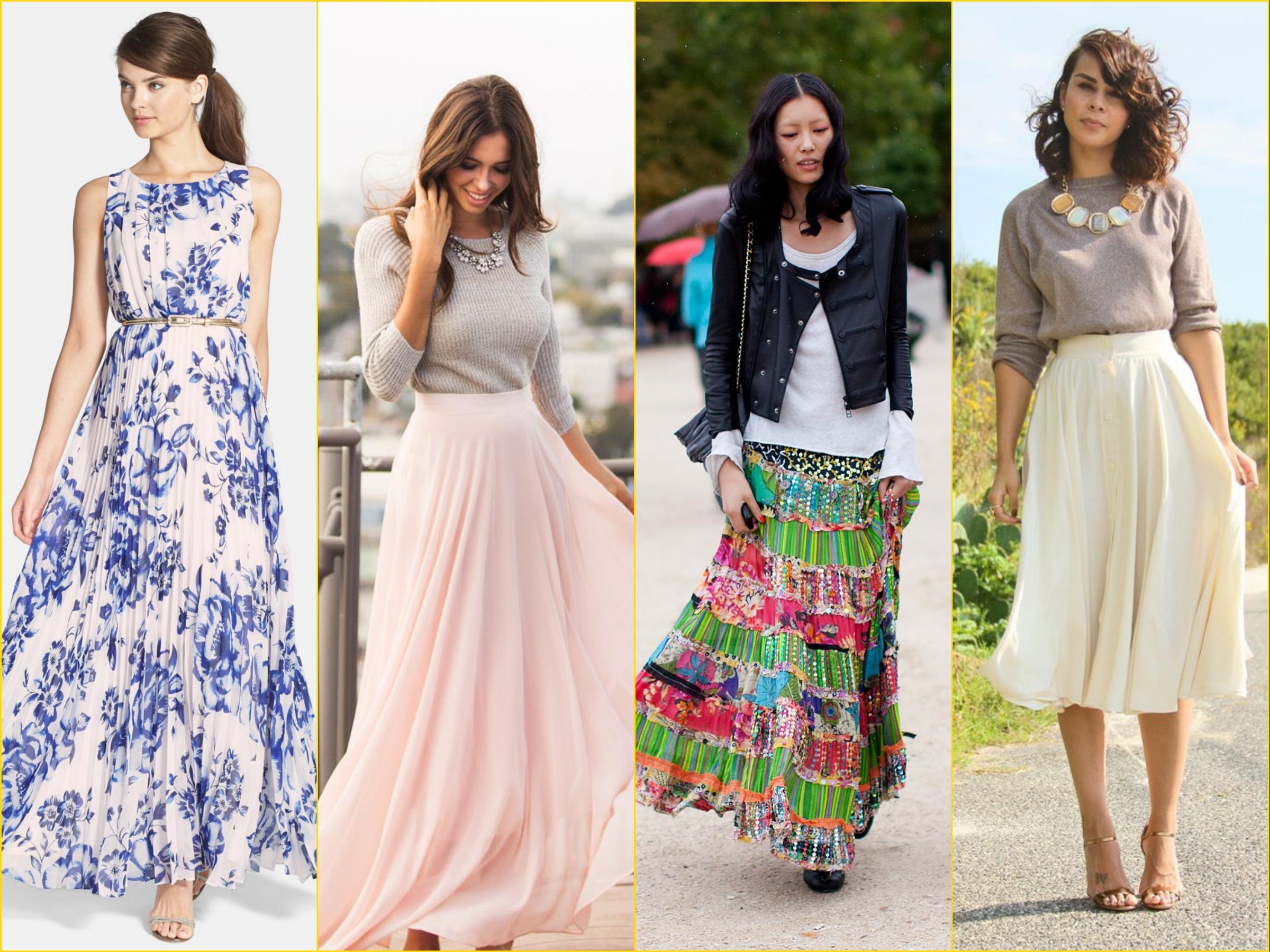 Choosing a skirt for a girl