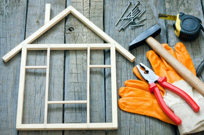 home renovations cost down