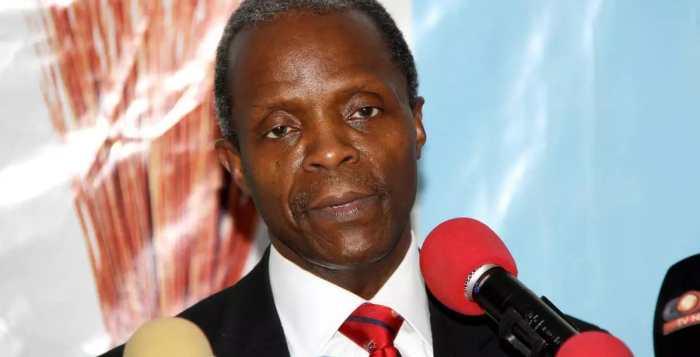 Professor Yemi Osinbajo, the Vice President of Nigeria