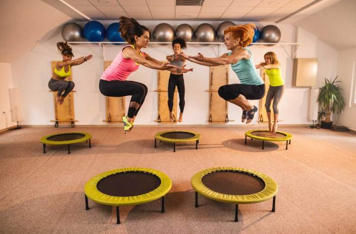 exercises women-trampoline rebounding exercises The Trent