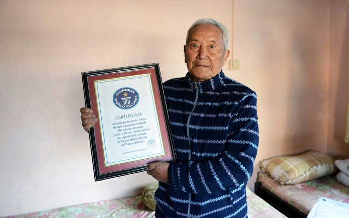 Mount Everest, Min Bahadur Sherchan, Min Bahadur Sherchan Dies At Everest