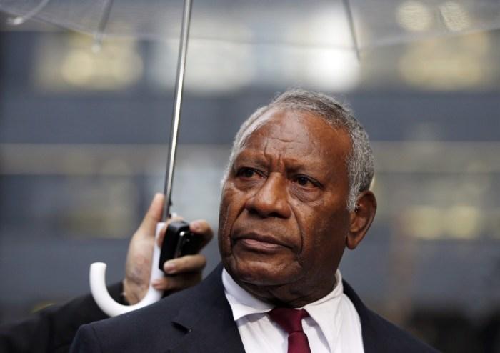 President Baldwin Lonsdale of Vanuatu