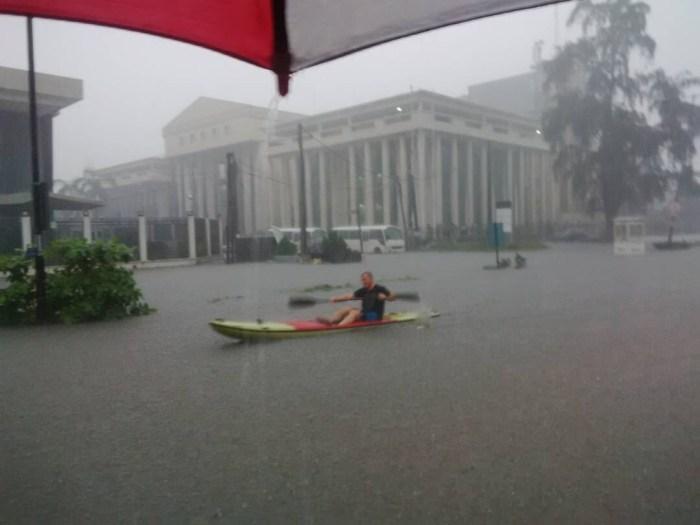 Lagos Flood Victoria Island