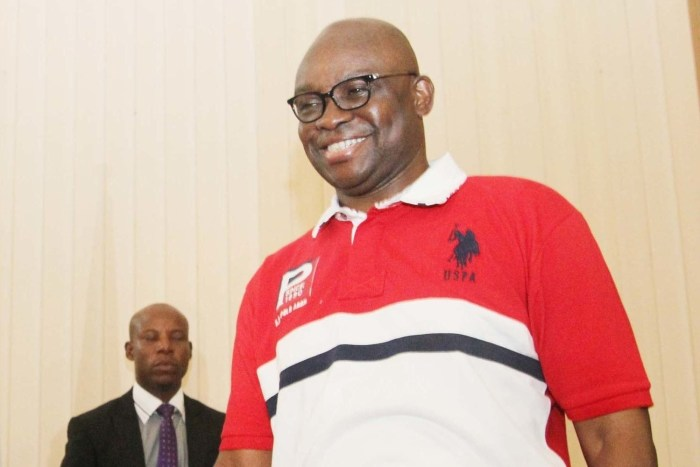 president Governor Ayo Fayose of Ekiti State