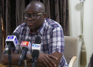 Governor Ayo Fayose of Ekiti State