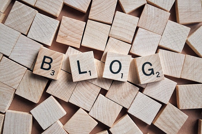 company blog blogging