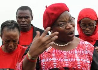 Chibok Oby Ezekwesili, founder of the Bring Back Our Girls movement
