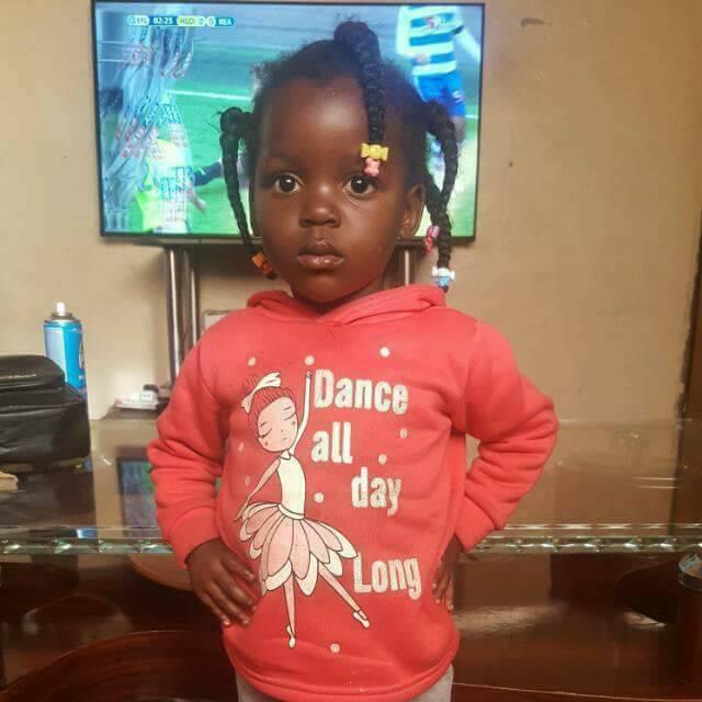 Augustine Mulenga's daughter