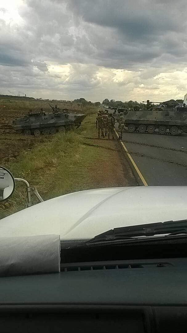 Zimbabwe Coup Mugabe