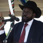 Salva Kiir Mayardit, the president of South Sudan Supreme Court