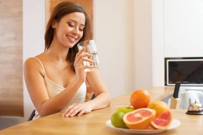 foods water sore throat brain