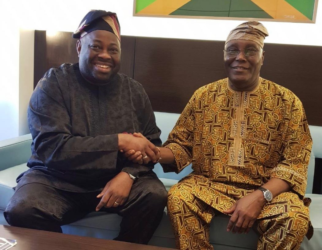 Dele Momodu and Atiku Abubakar