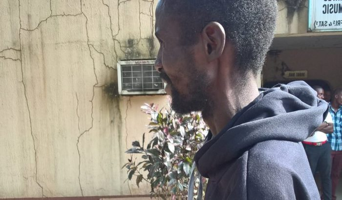 Libya returnee Alex Otoide, from Edo state | NAN