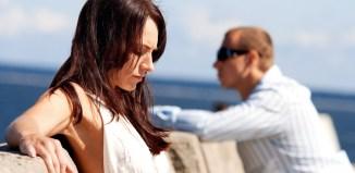couple unhappy fighting women