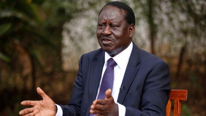 Raila Odinga, Kenya, US