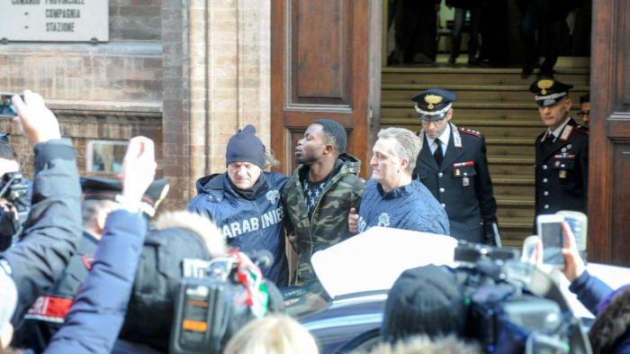 Pamela Mastropietro, Innocent Oseghale,Desmond Lucky, Lucky Awelima, Italy