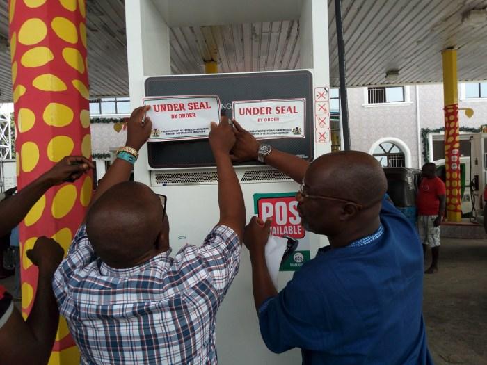 DPR, Petrol Station, Warri, Delta
