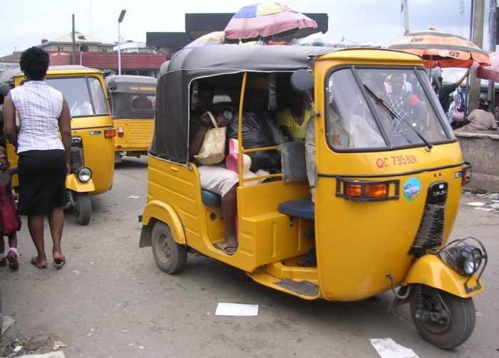 Tricycle, FRSC, Jos, Protest