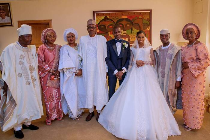 Buhari, Top Dignitaries Attend Osinbajo's Daughter's Wedding In Abuja (PHOTOS)