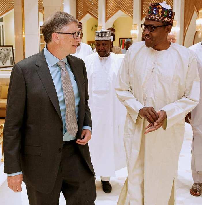 Bill gates muhammadu Buhari