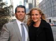 Donald Trump Jr. and his wife Vanessa Trump