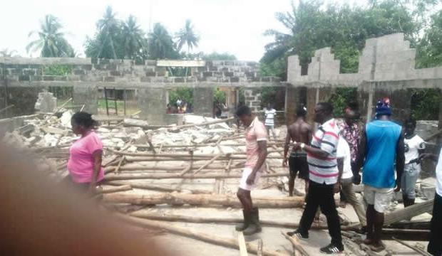 Ondo: Pregnant Woman, 4 Others Killed Church Building Collapse (PHOTO)
