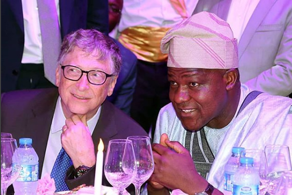 Bill Gates, Osinbajo, Otedola, Others Attend Dangote's Daughter's Wedding Reception (PHOTOS)