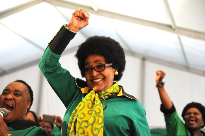 Tributes As Iconic Anti-Apartheid Campaigner Winnie Mandela Laid To Rest