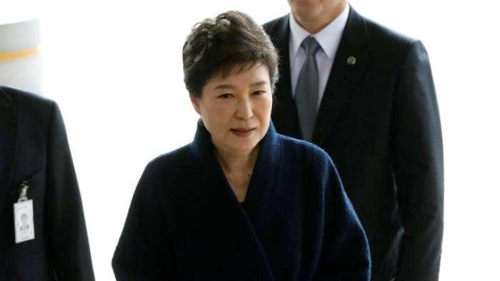 South Korean, Park Geun-hye , President, Jail, Court