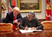 Elections President Muhammadu Buhari, President Trump, Kola Ologbondiyan