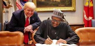 Buhari, Trump, Visit, Annkio Briggs, Letter