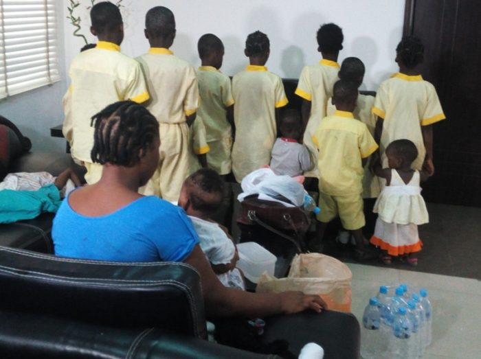 Lagos Gov't Rescues 24 Children From Illegal Orphanage Home (PHOTO)