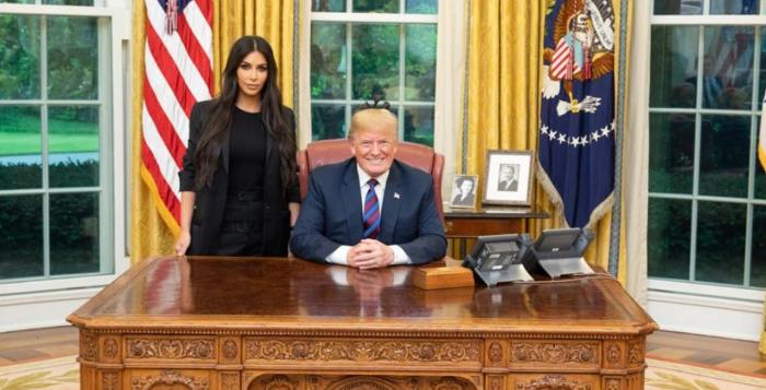 Kim Kardashian Meets With President Donald Trump in the Oval Office -- Pics | Entertainment Tonight