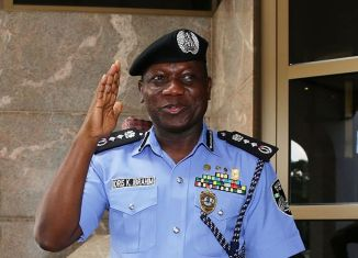 Ibrahim Idris, the Inspector general of the Nigeria Police Force