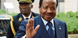 Cameroonian Head of State Paul Biya | Cameroon News Agency