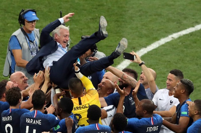 Deschamps was captain of the France squad that won the World Cup on home soil in 1998. (Photo | AP)