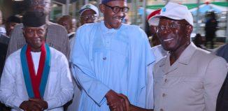 Yekini Nabena, President Muhammadu Buhari, Adams Oshiomhole
