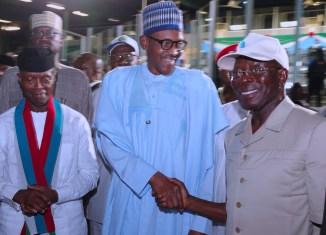 Buhari Congratulates New APC Chairman, Adams Oshiomhole