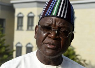 Samuel Ortom, the governor of Benue State