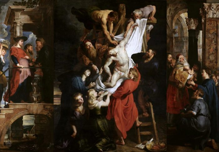 Rubens painting called The Descent banned on Facebook