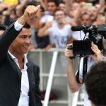 Ronaldo arrives for Juventus medical ahead of sensational €100m transfer