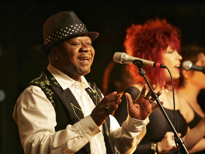 Papa Wemba performs in Paris in this undated photo