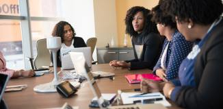 starting your first business business team office boardroom business meeting women businesswomen